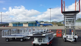 LAS-1 delivered a batch of Special Equipment to Vitoria Airport (Spain).